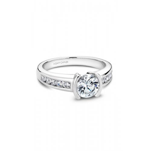 Noam Carver Modern Engagement ring B033-02WM product image