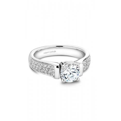 Noam Carver Modern Engagement ring B042-02WM product image