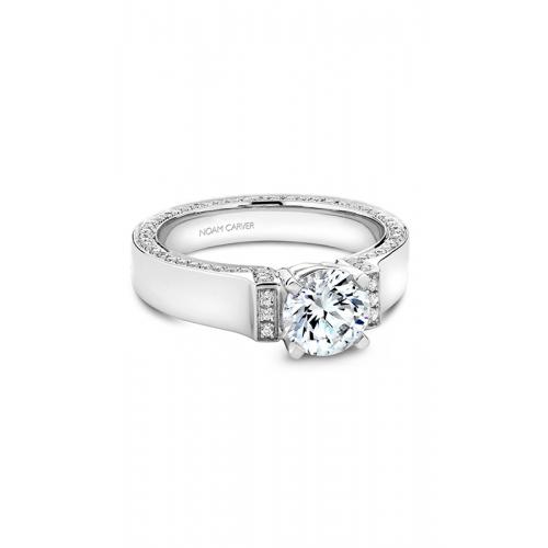 Noam Carver Modern Engagement ring B042-03WM product image