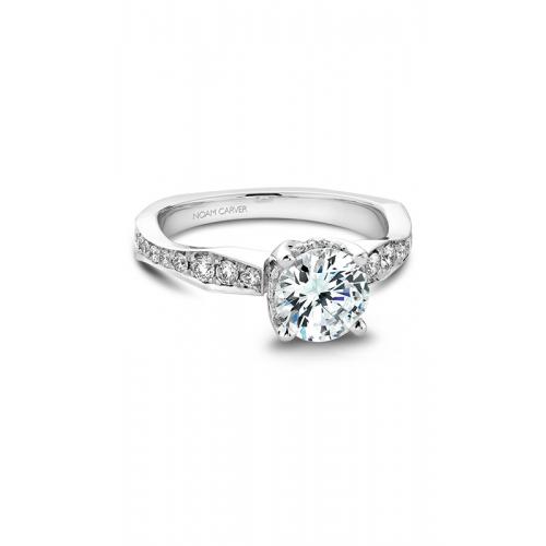 Noam Carver Vintage Engagement ring B020-02WM product image