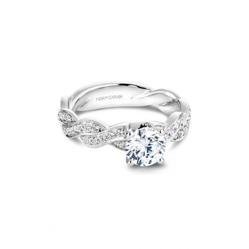 Noam Carver Twist Band Engagement ring B059-01WM product image
