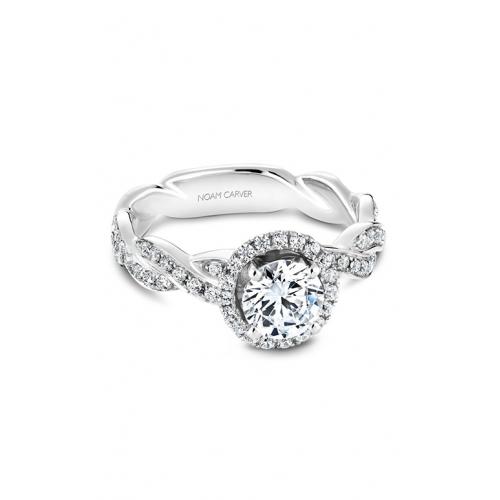 Noam Carver Twist Band Engagement ring B060-WM product image