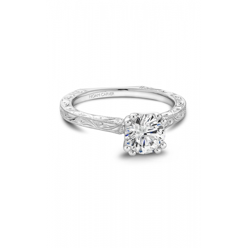 Noam Carver Vintage Engagement ring B001-02WME product image