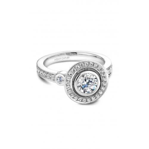 Noam Carver Vintage Engagement ring B010-01WM product image