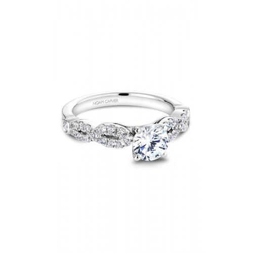 Noam Carver Vintage Engagement ring B046-01WM product image