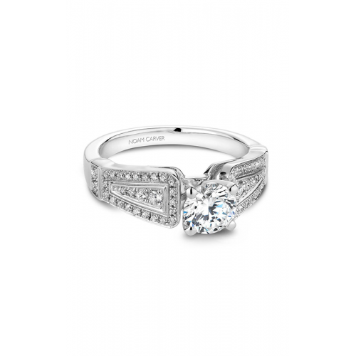 Noam Carver Vintage Engagement ring B048-01WM product image