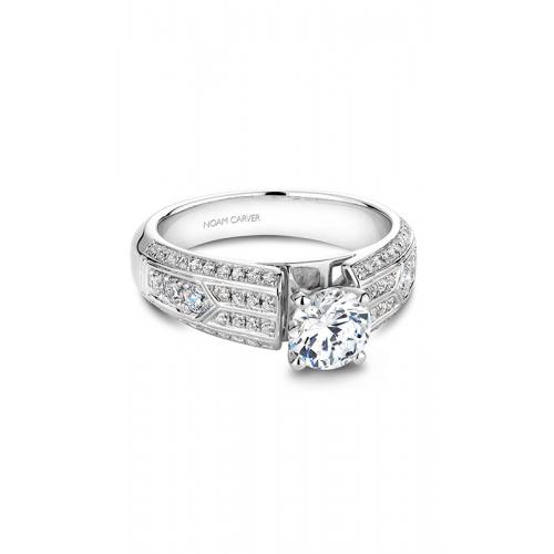 Noam Carver Vintage Engagement ring B049-01WM product image