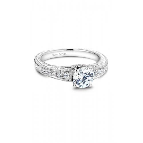 Noam Carver Vintage Engagement ring B050-01WM product image