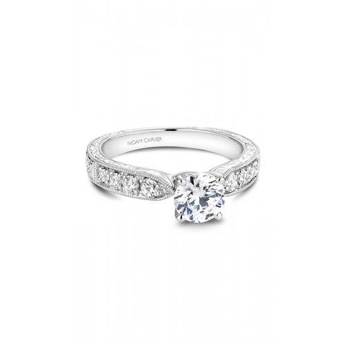 Noam Carver Vintage Engagement ring B052-01WM product image