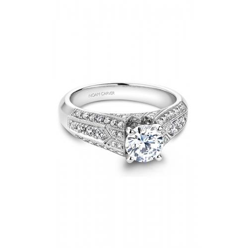 Noam Carver Vintage Engagement ring B055-01WM product image