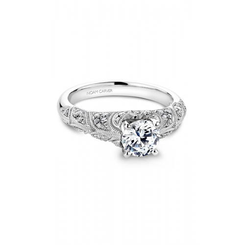 Noam Carver Vintage Engagement ring B056-01WM product image
