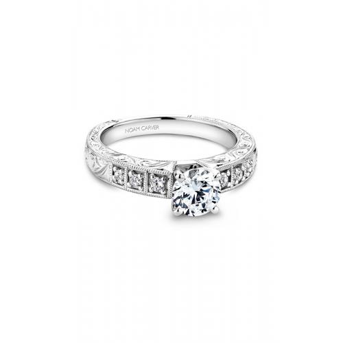 Noam Carver Vintage Engagement ring B057-01WM product image