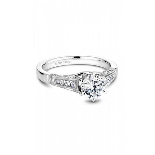 Noam Carver Vintage Engagement ring B061-01WM product image