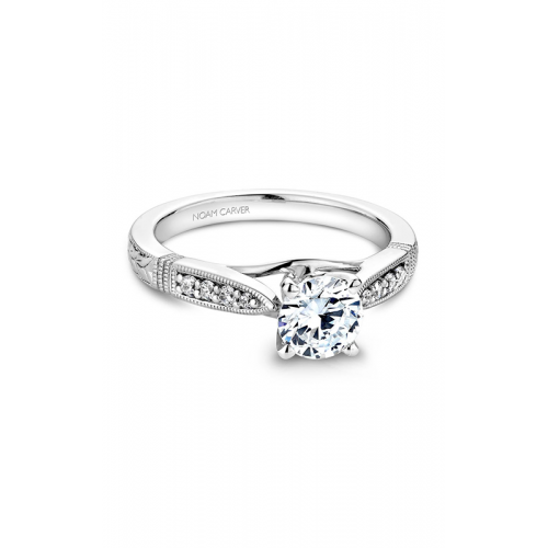 Noam Carver Vintage Engagement ring B062-01WM product image