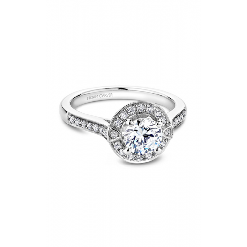 Noam Carver Floral Engagement ring B066-01WM product image