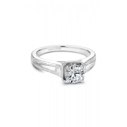 Noam Carver Vintage Engagement ring B078-01WM product image