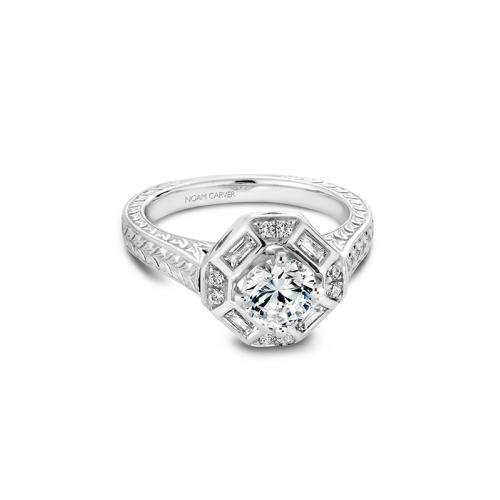 Noam Carver Vintage Engagement ring B080-01WM product image