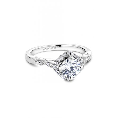 Noam Carver Floral Engagement ring B084-01WM product image