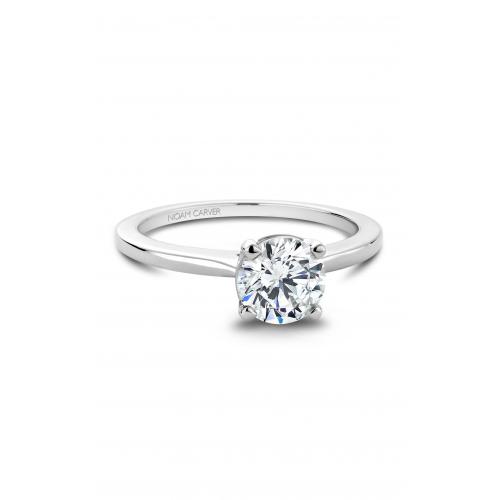 Noam Carver Solitaire Engagement ring B018-01WM product image