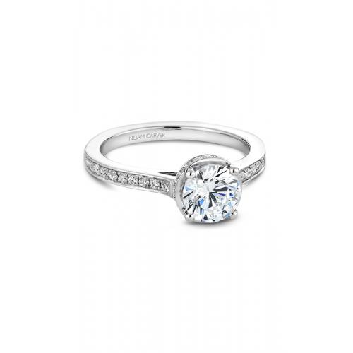 Noam Carver Solitaire Engagement ring B040-02WM product image