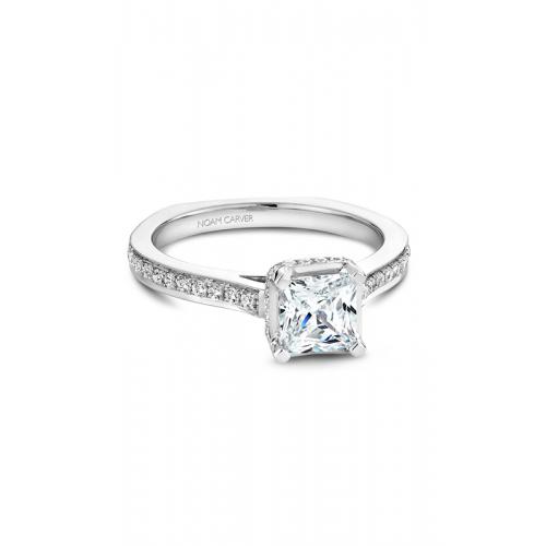 Noam Carver Solitaire Engagement ring B041-02WM product image