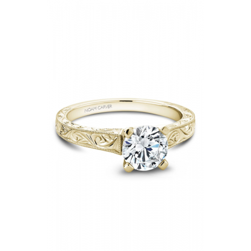 Noam Carver Vintage Engagement ring B006-03YME product image