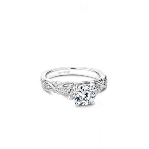 Noam Carver Vintage Engagement ring B162-01WM product image