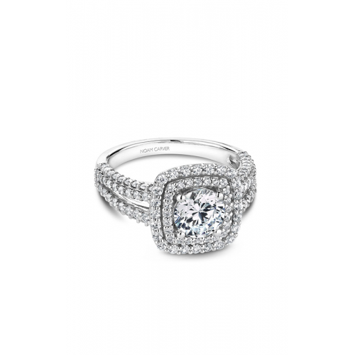 Noam Carver Halo Engagement ring B173-01WM product image