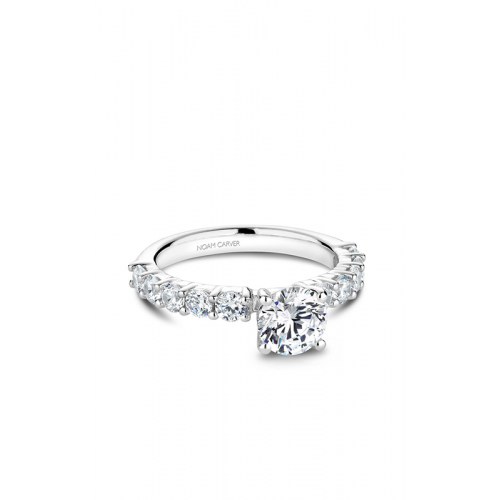 Noam Carver Modern Engagement ring B178-03WM product image