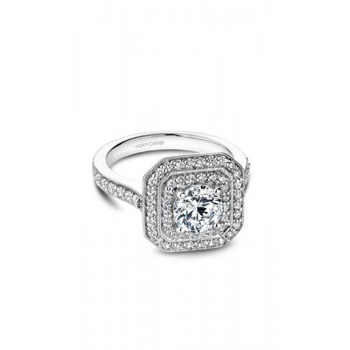 Noam Carver Halo Engagement ring B181-01WM product image