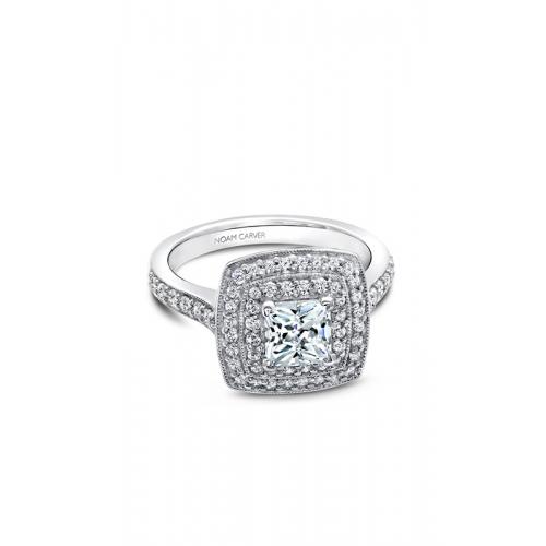 Noam Carver Halo Engagement ring B182-01WM product image