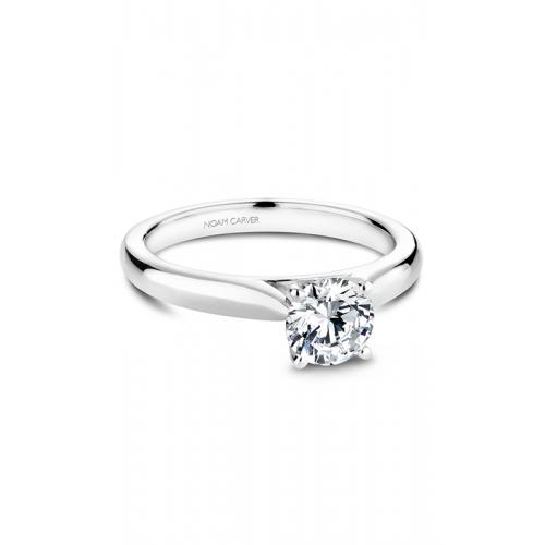 Noam Carver Solitaire Engagement ring B190-01WM product image