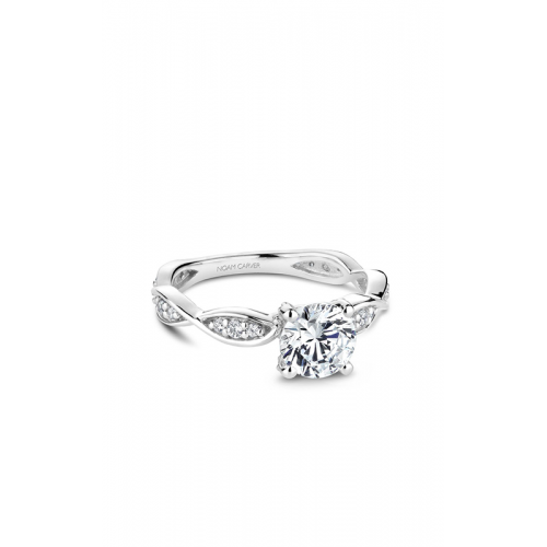 Noam Carver Floral Engagement ring B197-01WM product image