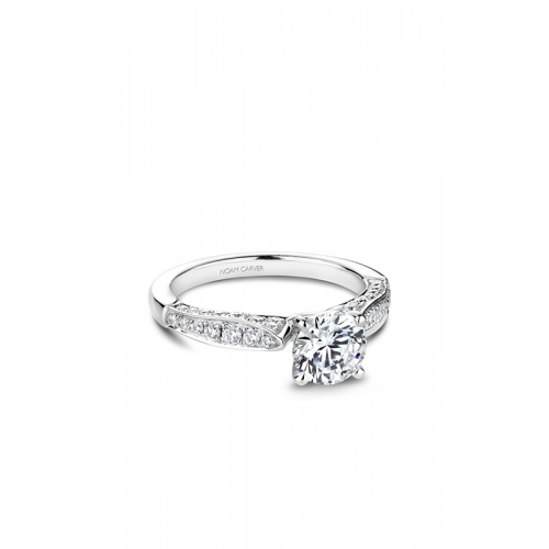 Noam Carver Solitaire Engagement ring B202-01WM product image