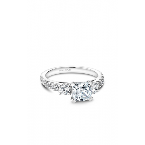 Noam Carver 3 Stone Engagement ring B205-01WM product image