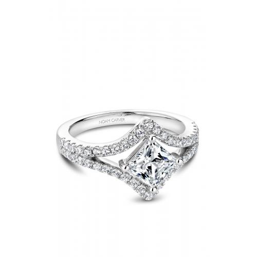 Noam Carver Modern Engagement ring B209-01WM product image