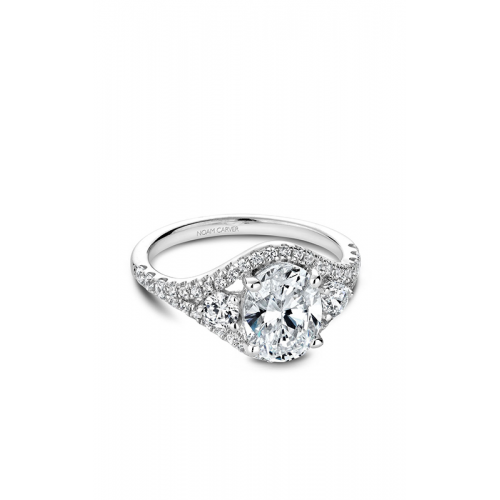 Noam Carver Modern Engagement ring B212-01WM product image