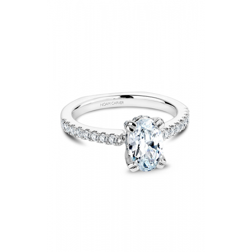 Noam Carver Solitaire Engagement ring B009-02WM product image