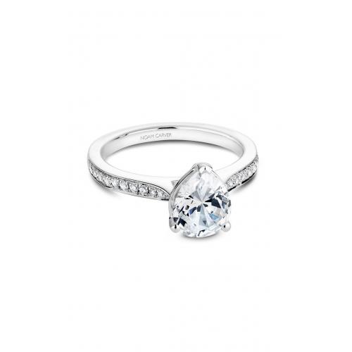 Noam Carver Solitaire Engagement ring B018-04WM product image