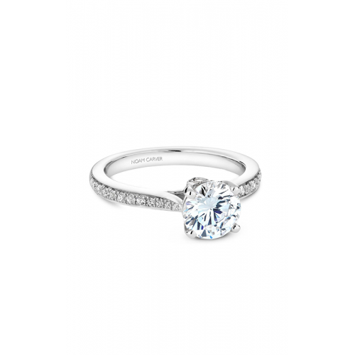 Noam Carver Solitaire Engagement ring B141-02WM product image