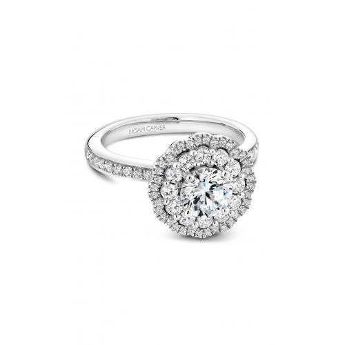 Noam Carver Floral Engagement ring B141-16WM product image