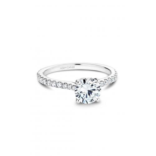 Noam Carver Solitaire Engagement ring B142-01WM product image