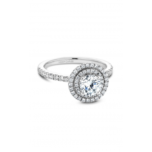Noam Carver Halo Engagement ring B142-07WM product image