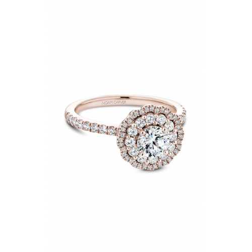 Noam Carver Floral Engagement ring B142-16RM product image