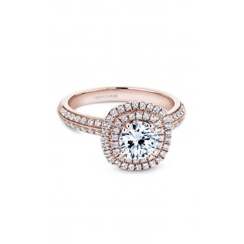 Noam Carver Halo Engagement ring B144-08RM product image