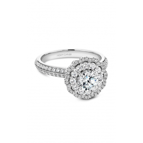 Noam Carver Floral Engagement ring B144-16WM product image