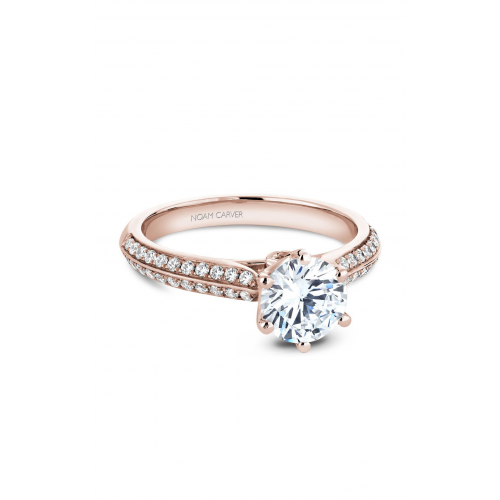 Noam Carver Vintage Engagement ring B144-17RM product image