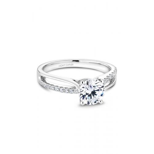 Noam Carver Solitaire Engagement ring B165-01WM product image