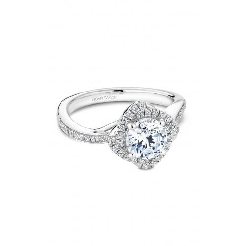 Noam Carver Floral Engagement ring B176-01WM product image