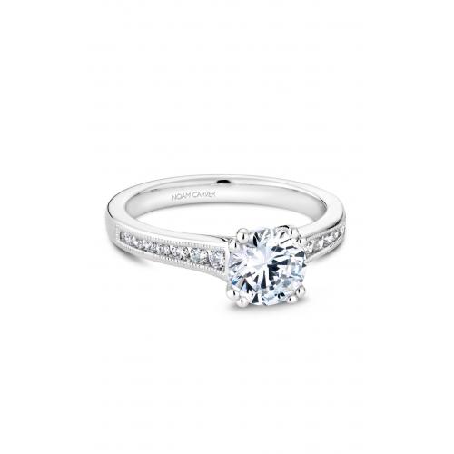 Noam Carver Solitaire Engagement ring B203-01WM product image